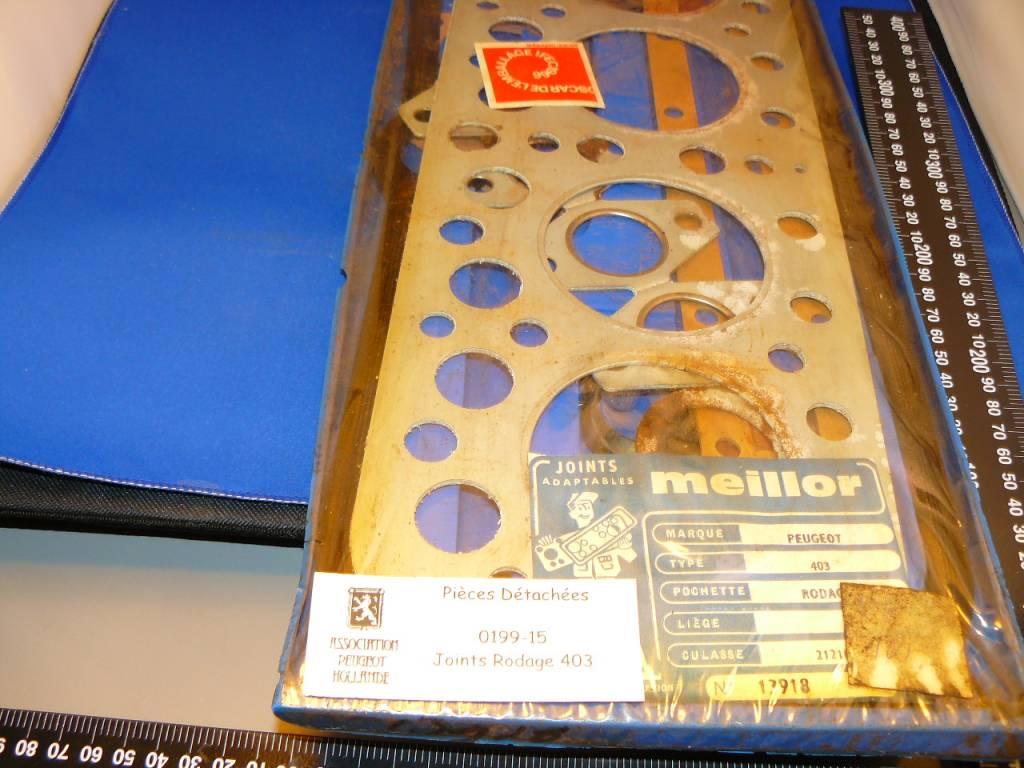 Pakking set kop 403