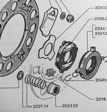 APH Druklager (kogellager) ook ter vervanging van 2034-07/2041-08 & 2041-11)