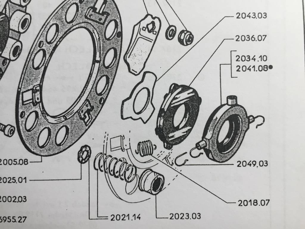 APH Druklager Koolstof (2034-07 / 2041-08)
