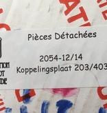 APH Koppelingsplaat 203/403(2054-12/14) met inruil oude