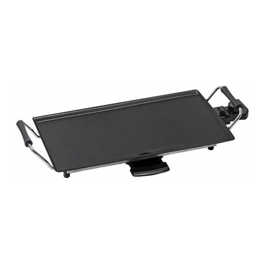 Bestron Backplatte plancha 2000W ABP602