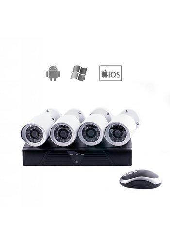 Walkertone IP Camera set met NVR