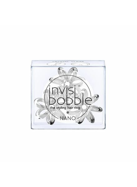 invisibobble® NANO Crystal Clear 6-Box