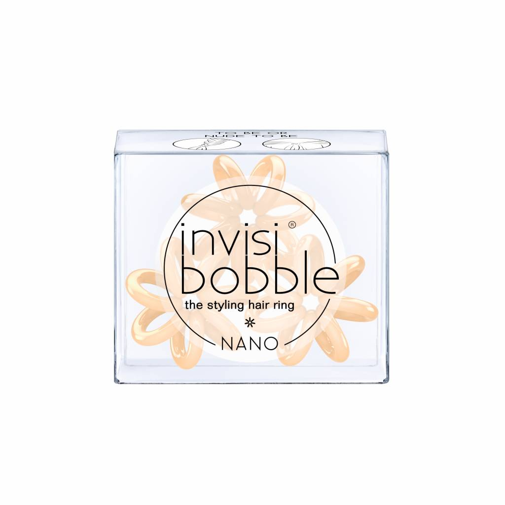 invisibobble® NANO To Be Or Nude To Be 6-Box