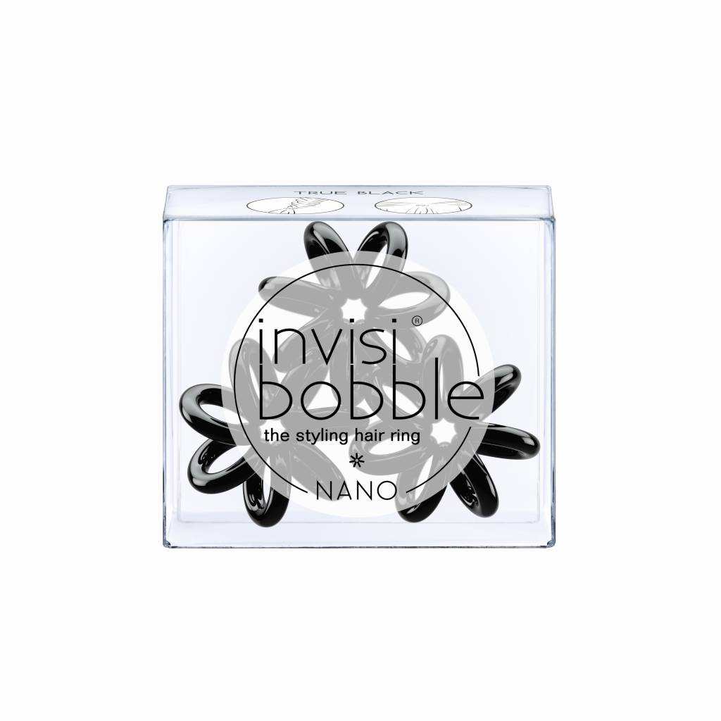 invisibobble® NANO True Black 6-Box