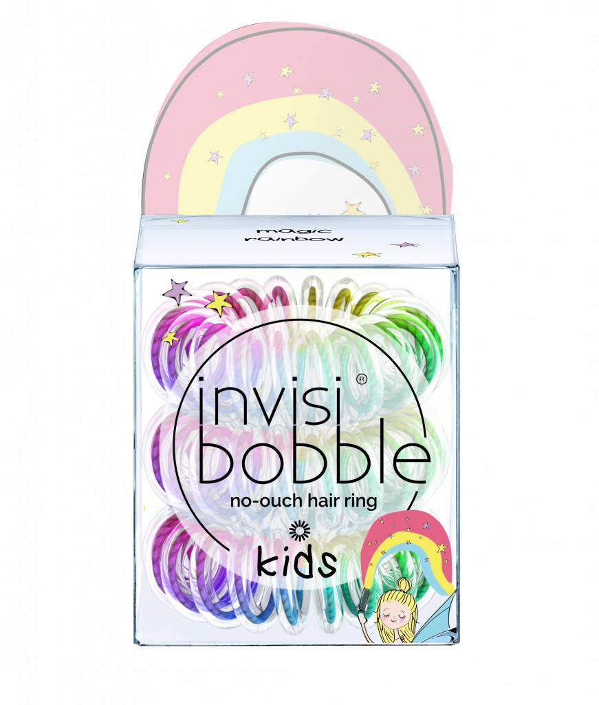 invisibobble® KIDS Magic Rainbow 6-Box