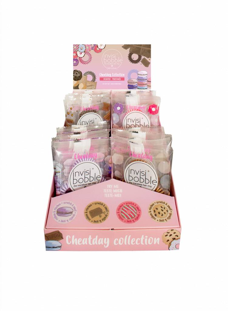invisibobble® Cheatday 24-display