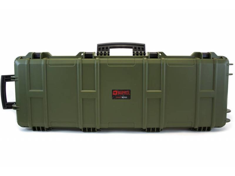 Nuprol Large Hard Case Green(Wave Foam)