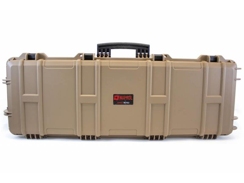Nuprol Large Hard Case Tan (Wave Foam)