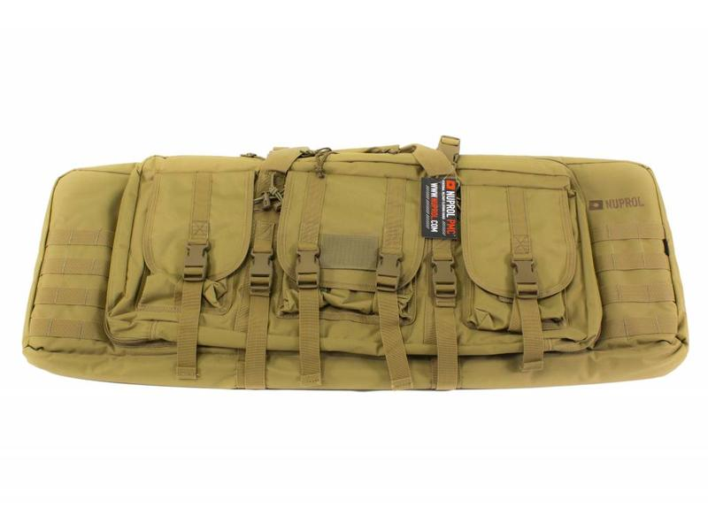 "Nuprol PMC Deluxe Soft Rifle Bag 36"" Tan"