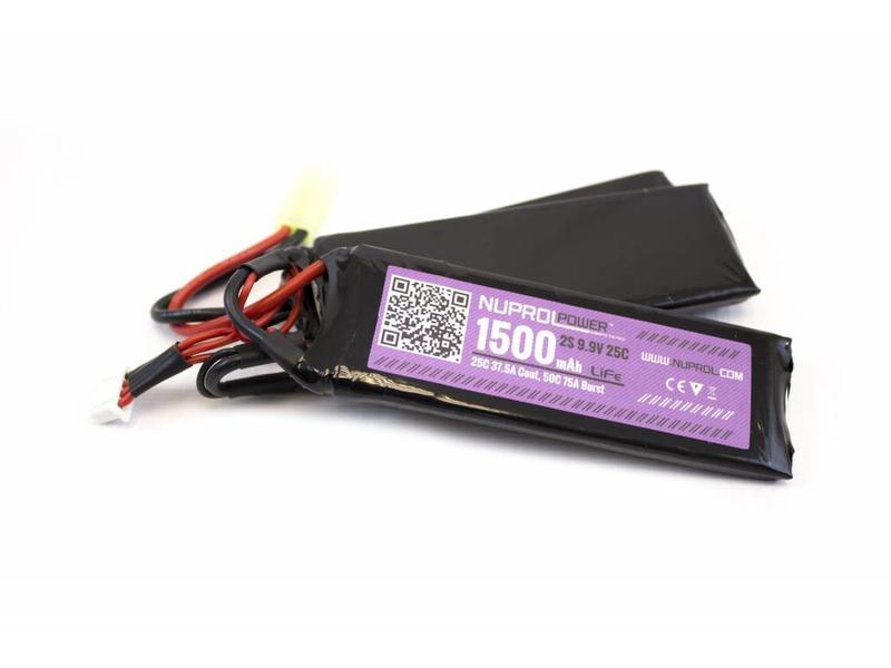 Nuprol Power 1500MAH 9.9V 25C LI-FE Nunchuck Type