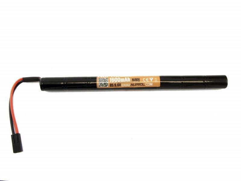 Nuprol Power 1600MAH 9,6V Nimh Stick AK Type