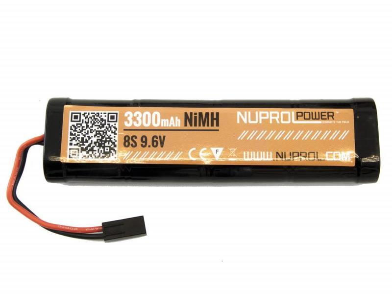 Nuprol Power 3300MAH 9.6V Nimh Large Type
