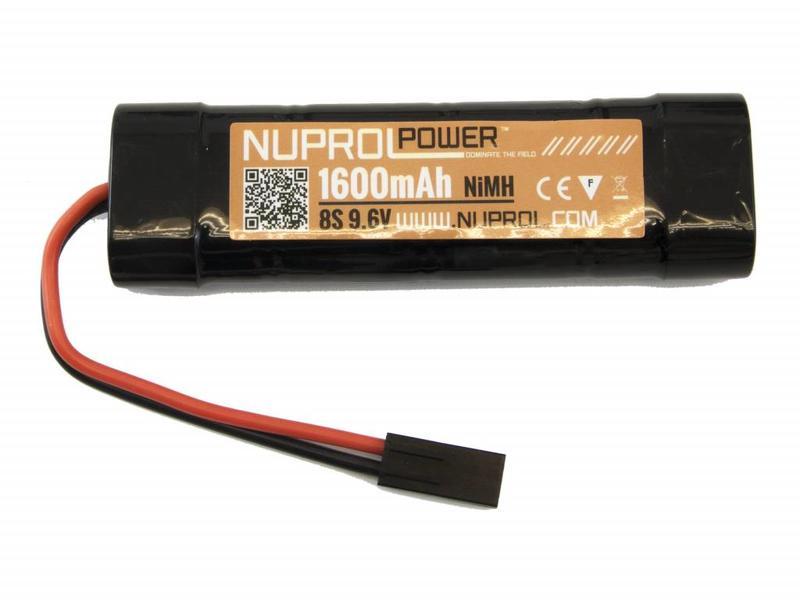 Nuprol Power 1600MAH 9.6V Nimh Small Type