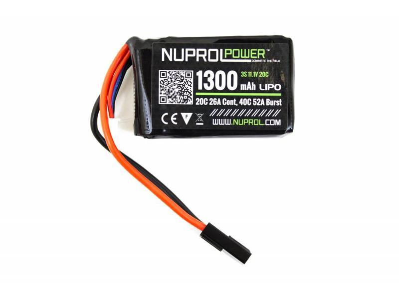 Nuprol Power1300MAH 11.1V 20C PEQ Micro Lipo