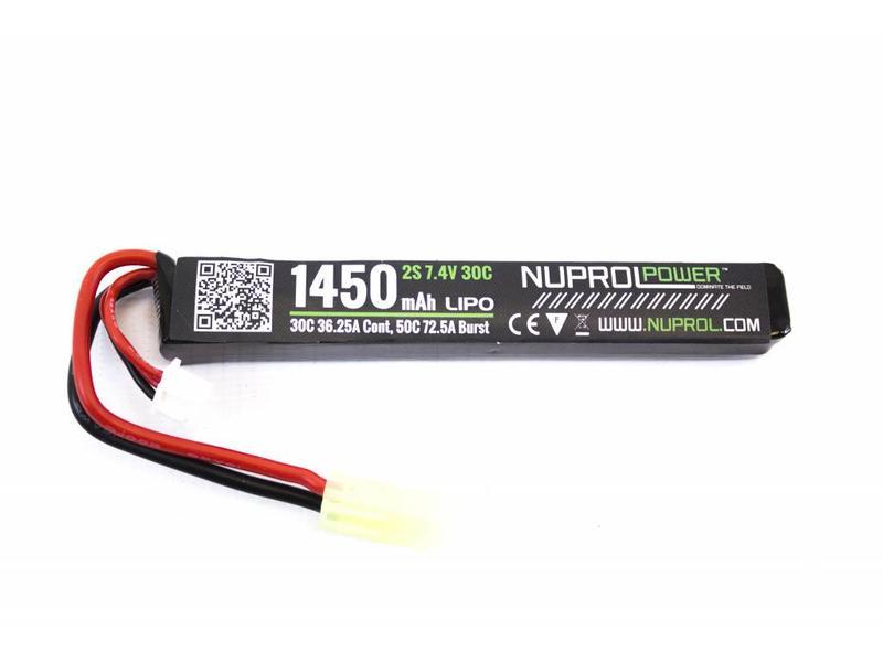 Nuprol Power 1450MAH 7.4V 30C Stick Type