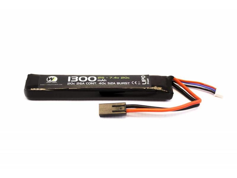 Nuprol Power 1300MAH 7.4V 20C Stick Type