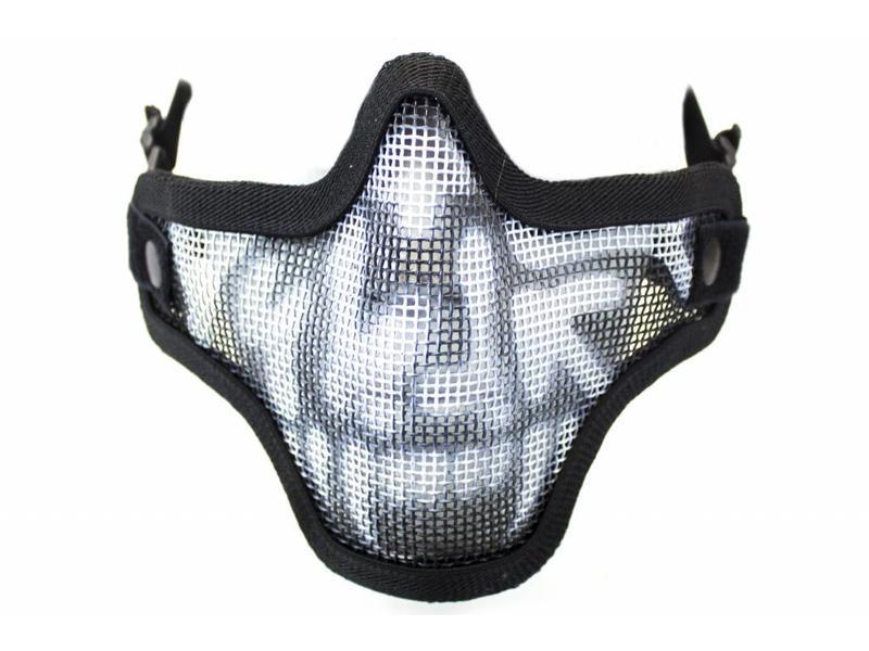 Nuprol Mesh Lower face Mask Skull