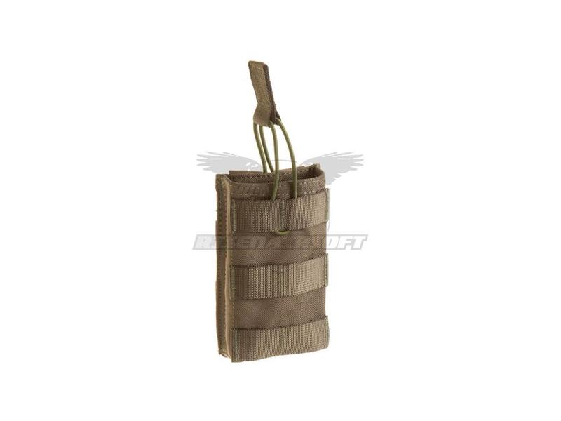 Invader Gear 5.56 Single Direct Action Mag Pouch Ranger Green