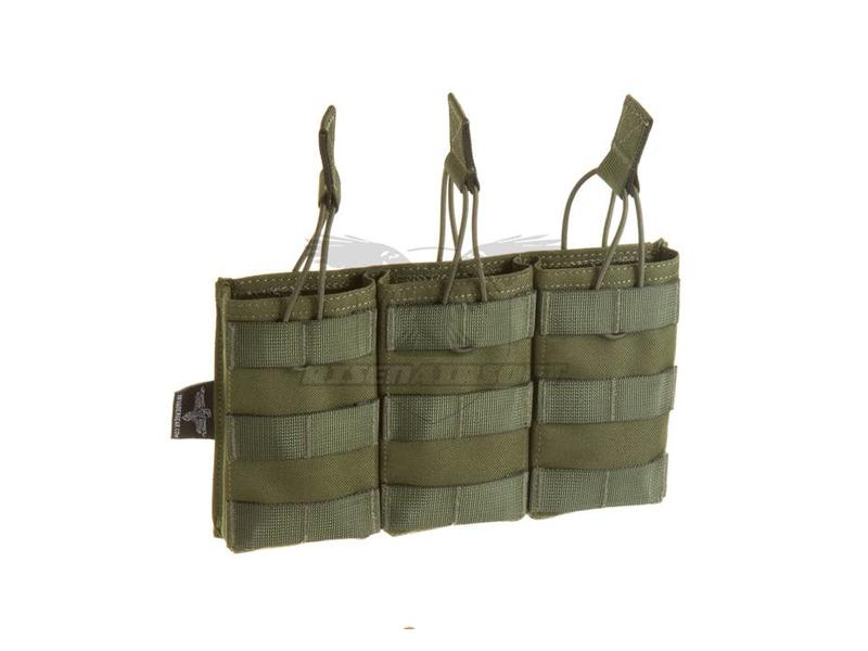 Invader Gear 5.56 Triple Direct Action Mag Pouch OD