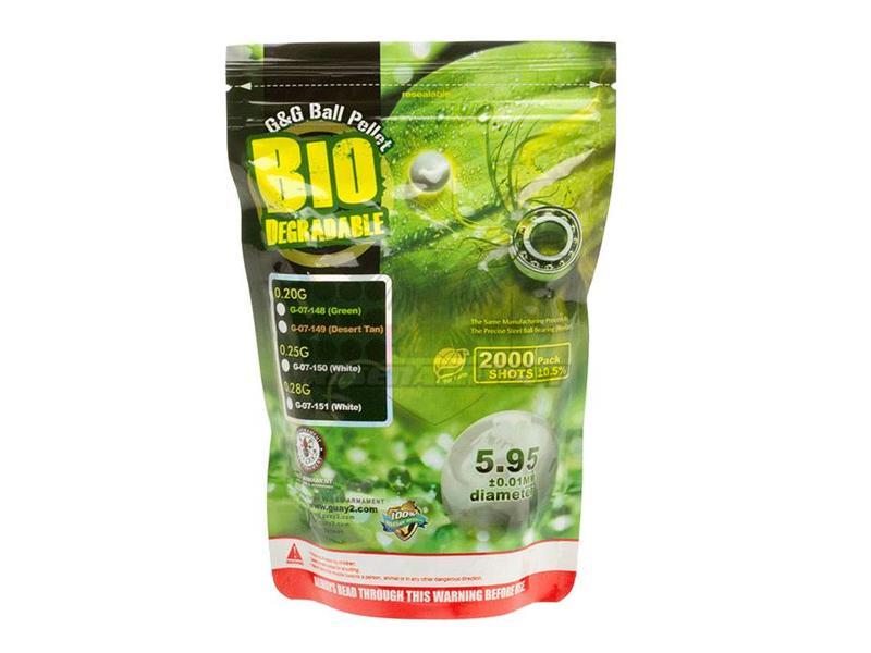 G&G .28 Bio Precision BB's 2000rd