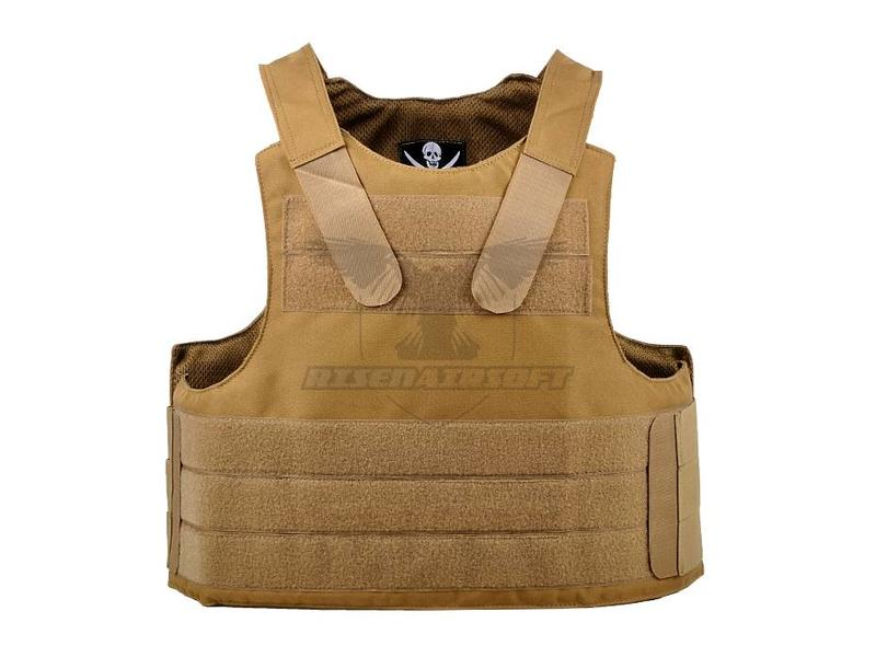 Invader Gear PECA Body Armour Vest Coyote