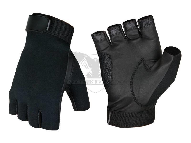 Invader Gear Half Finger Shooting Gloves Zwart