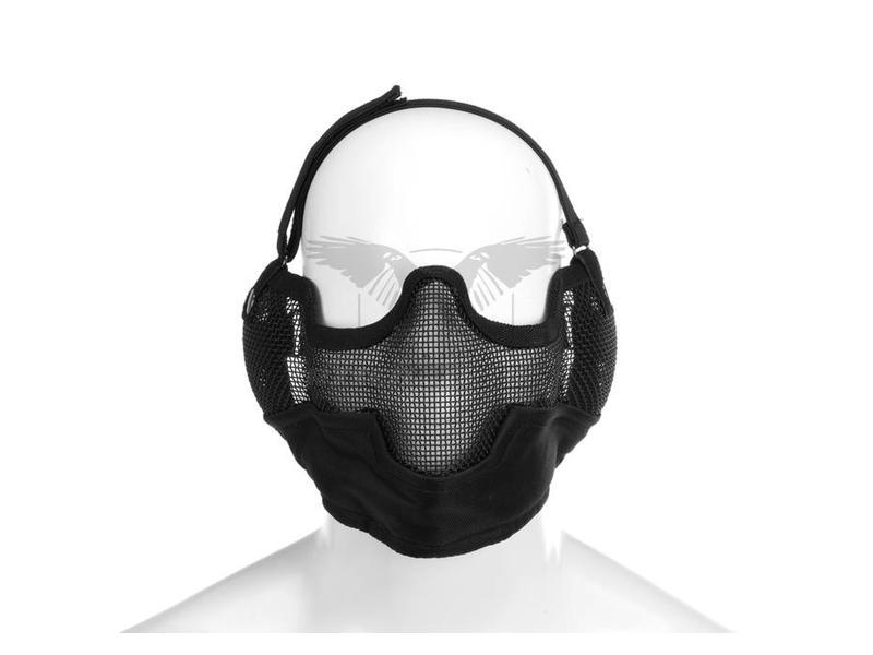 Invader Gear Steel Face Mask Zwart