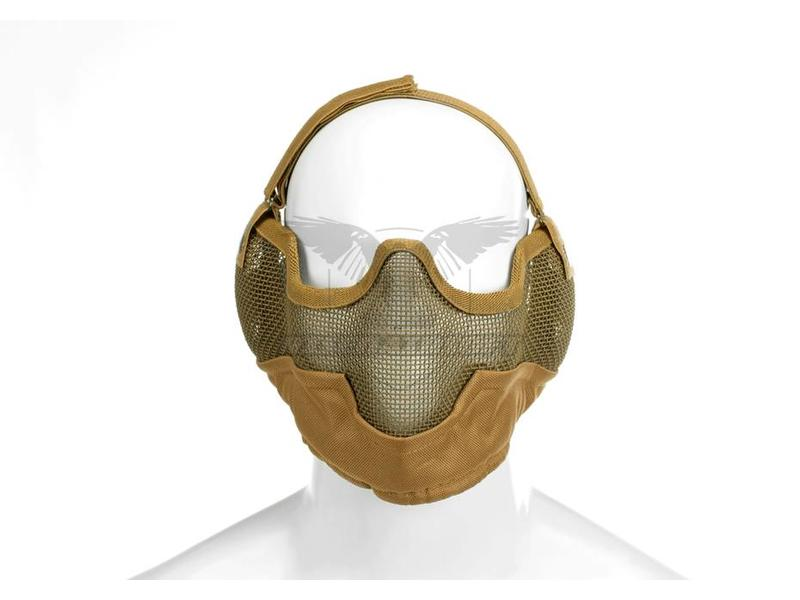 Invader Gear Steel Face Mask Coyote