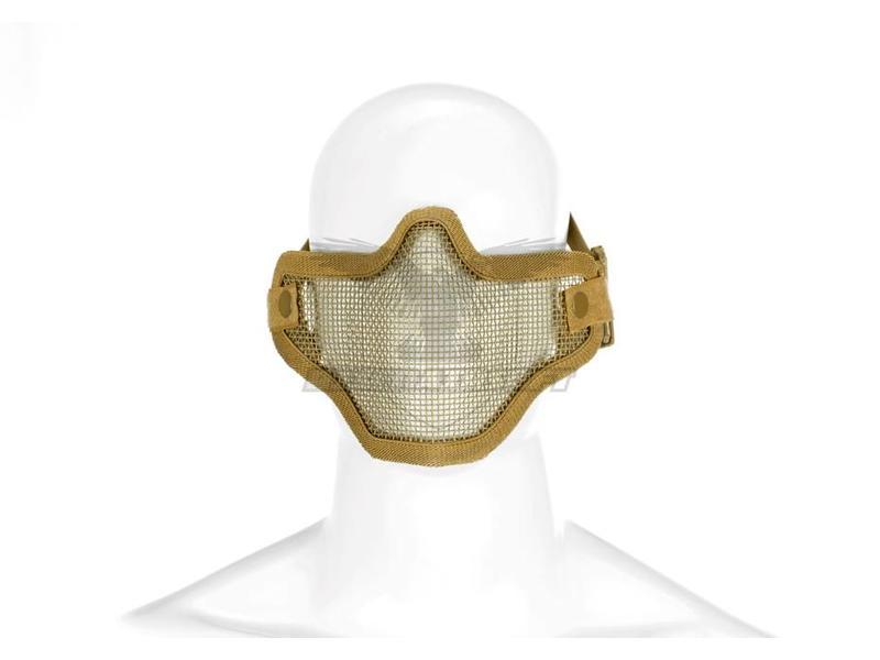 Invader Gear Steel Half Face Mask Coyote
