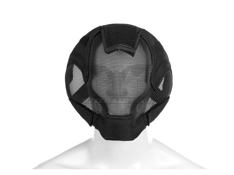Invader Gear Steel Ultimate Face Mask Zwart
