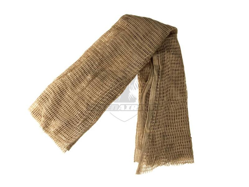 Invader Gear Sniper Net Scarf Tan