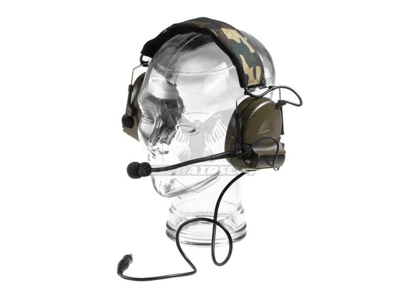 Z-Tactical Comtac II Headset Military Standard Plug Green