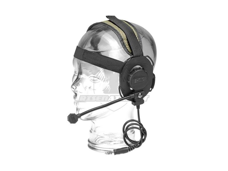 Z-Tactical Evo III Headset Zwart