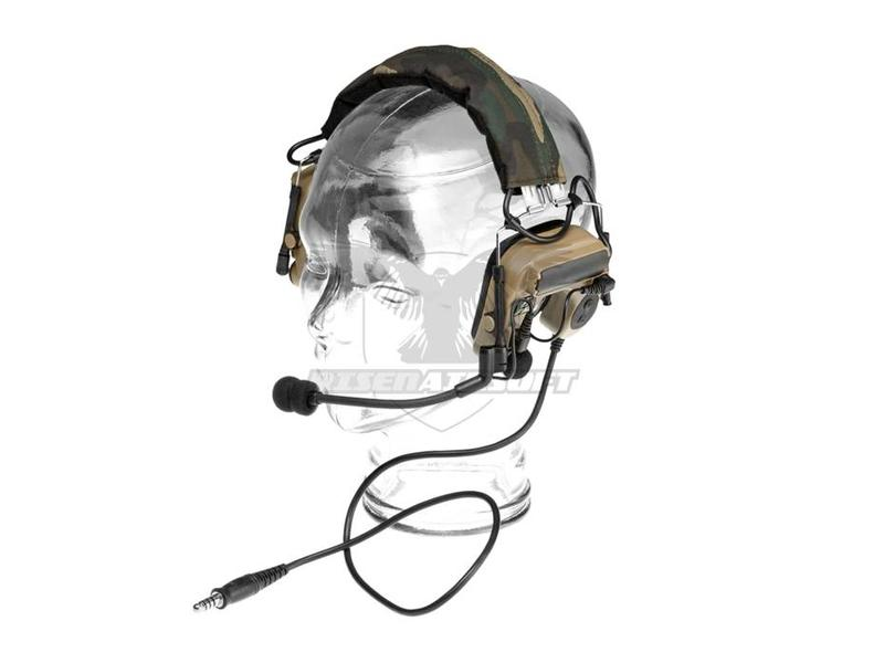 Z-Tactical Comtac IV Headset Military Standard Plug Dark Earth