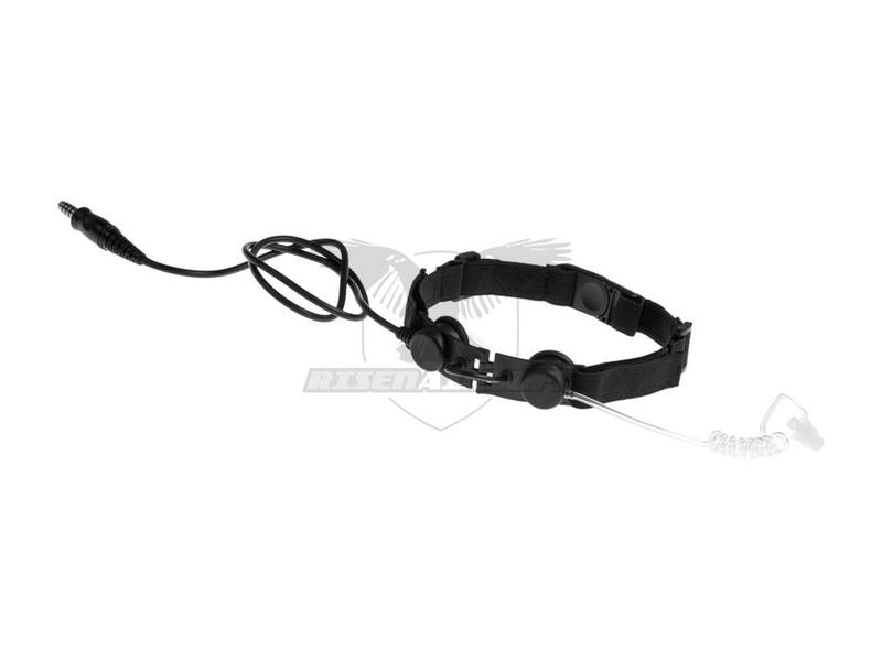 Z-Tactical Tactical Throat Mic Zwart