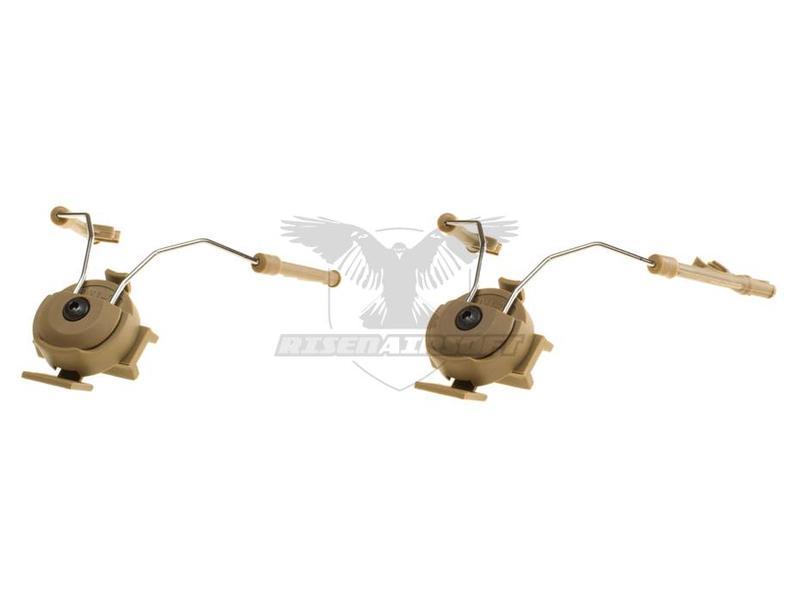 Z-Tactical Comtac Helmet Rail Adapter Set Dark Earth