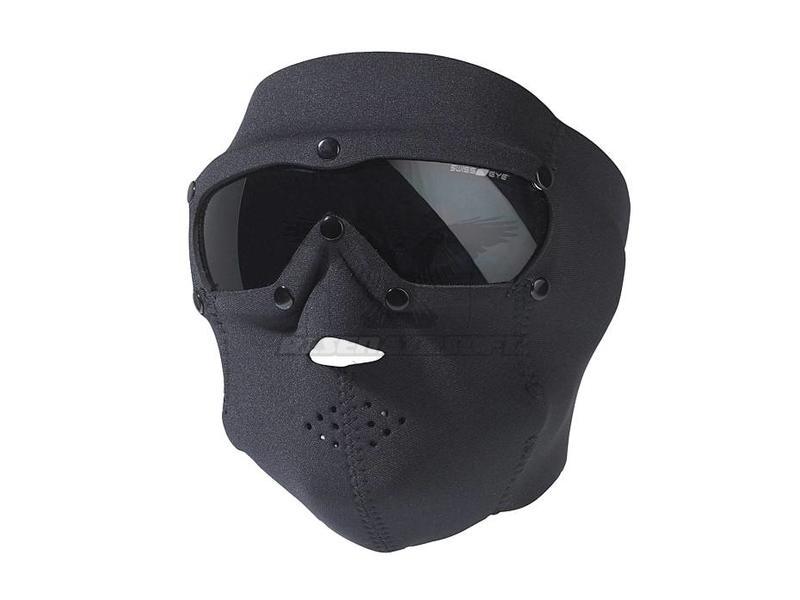SwissEye SWAT Mask Basic Smoke Zwart