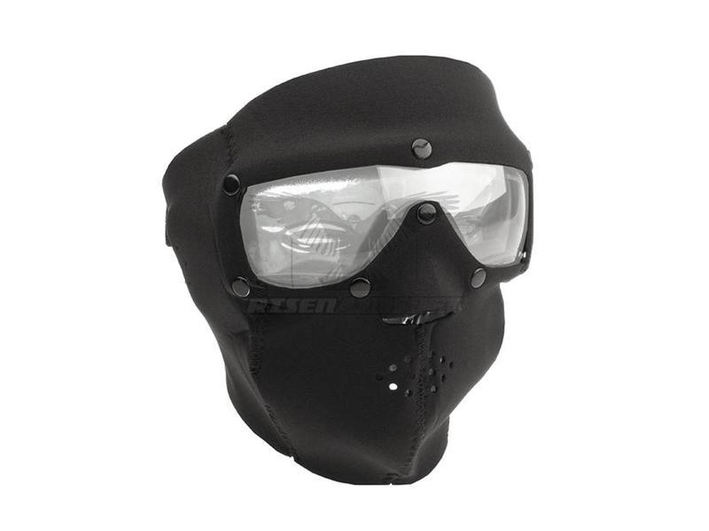 SwissEye SWAT Mask Basic Clear Zwart