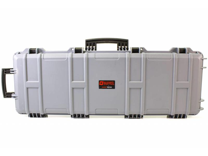 Nuprol Large Hard Case Grey (Pick and Pluck)
