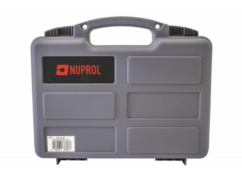 Nuprol Small Hard Case Grey Wave Foam