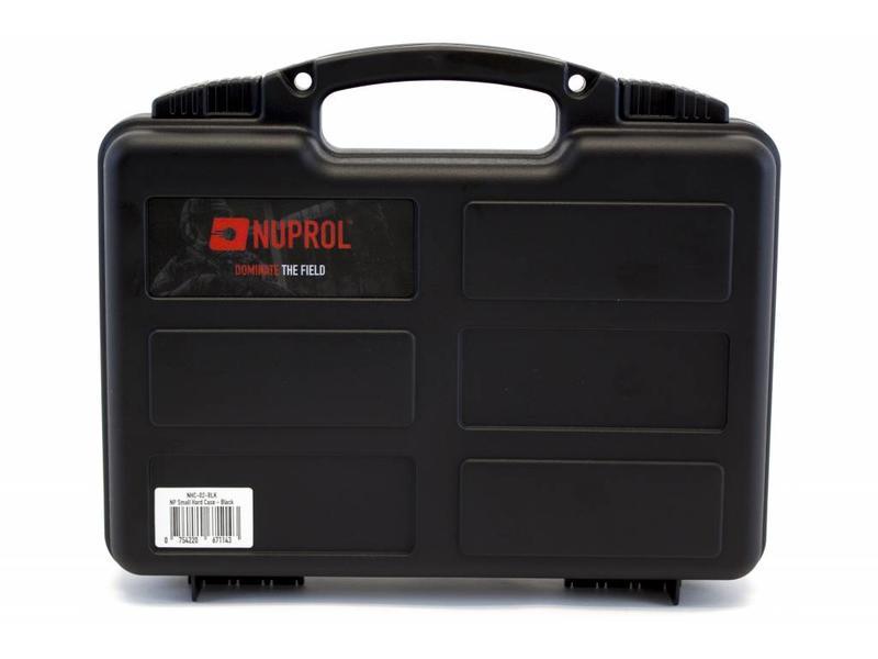 Nuprol Small Hard Case Black Wave Foam