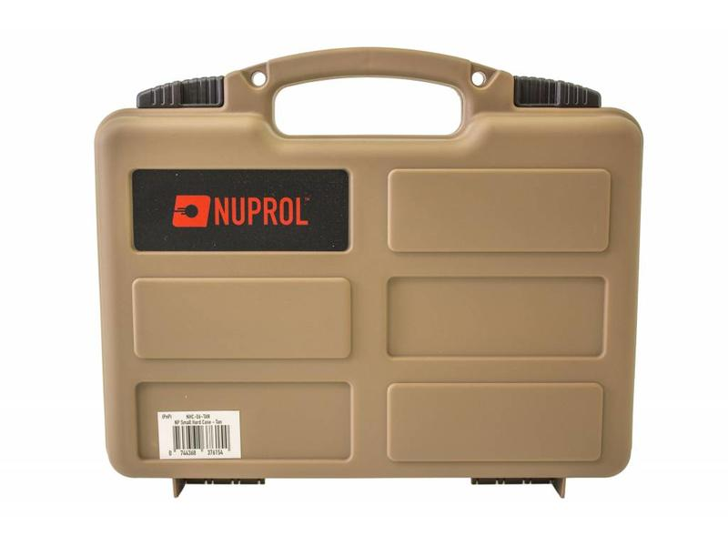 Nuprol Small Hard Case Tan Pick and Pluck