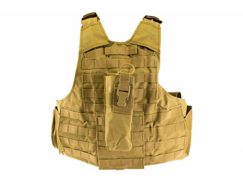 Nuprol RTG Tactical Vest - Tan