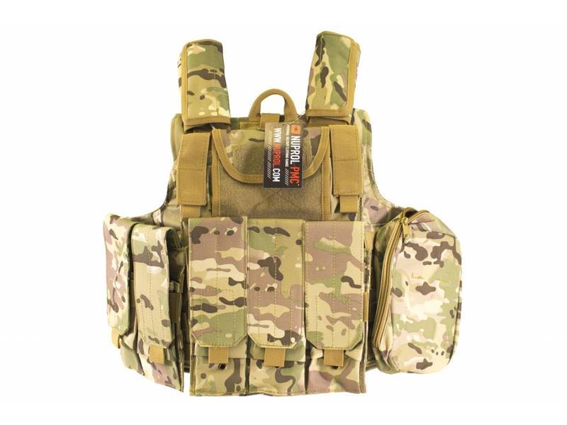 Nuprol RTG Tactical Vest - NP Camo