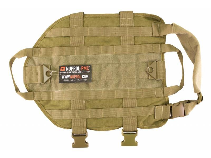 Nuprol Tactical Dog Vest - Tan