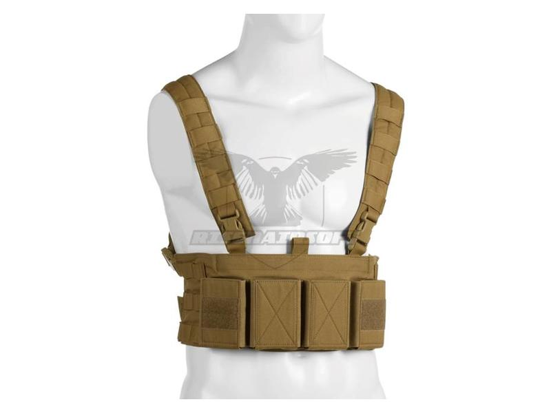 Warrior Low Profile Chest Rig Coyote