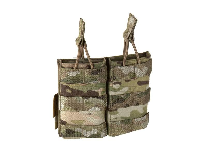 Warrior Double Open Mag Pouch M4 5.56mm Multicam