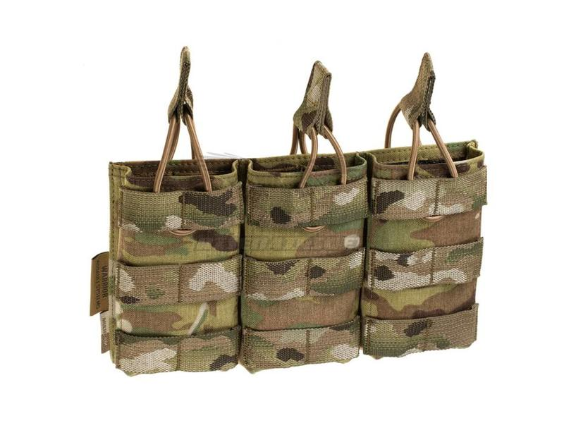 Warrior Triple Open Mag Pouch M4 5.56mm Multicam