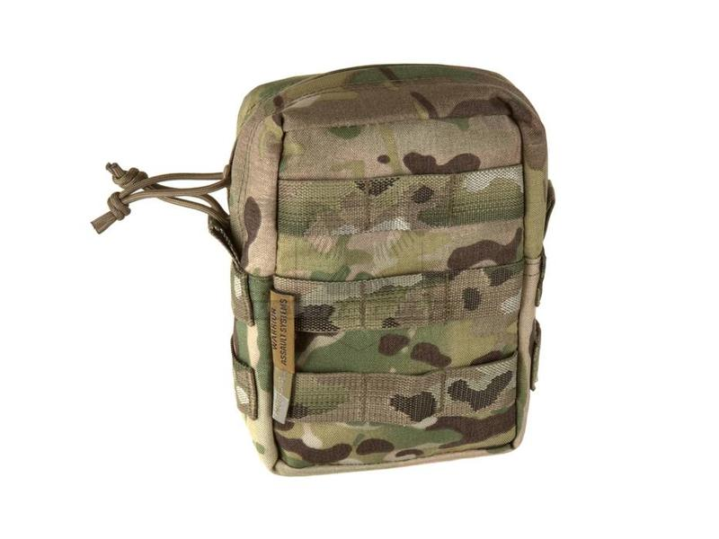 Warrior Small MOLLE Utility Pouch Zipped Multicam